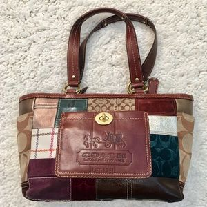Coach Limited Edition Holiday Leatherware Tote